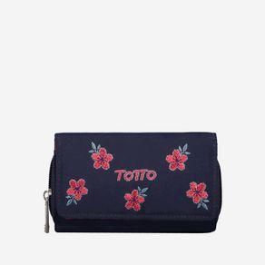 billetera-para-mujer-en-lona-bordado-flores-paracas-azul-Totto