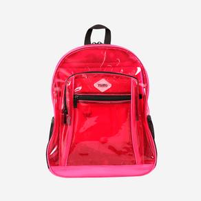 morral-para-mujer-transparente-telus-rosado-raspberry