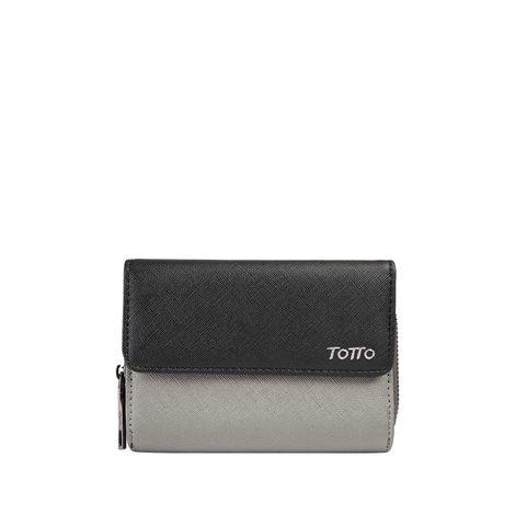 Billetera-para-Mujer-en-Pu-Leather-Cancri-gris-gris-negro