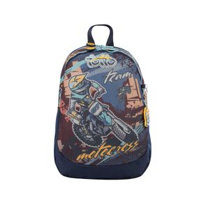 Morral-Mediano-para-Niño-Motto-Cross-azul-motto-cross