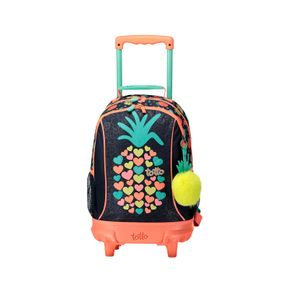 Morral-Mediano-Rueas-para-Niña-Bomper-Tropical-Fruit-azul-tropical-fruit
