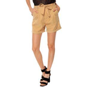 Short-para-Mujer-con-cinturon-y-dobladillo-Sapote-terreo-tan