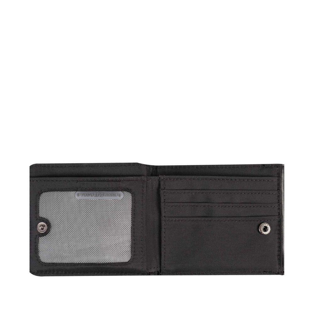 11 3cm iTemer 1 Unidades de Moda de Cuero Punk Negro con Cremallera Larga Billetera Damas Monedero Bolsa de Tarjeta de cr/édito Bolso de la se/ñora 21